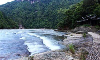 鸳鸯溪 白水洋 百丈漈 五老峰