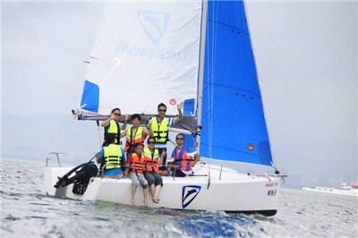 厦门旅游香山帆船出海体验一小时(当天可预定)