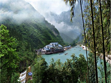 三峡竹海生态风景区旅游风景图片