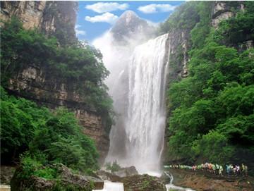 宜昌三峡大瀑布景点图片大全_【三峡大瀑布】风景照片